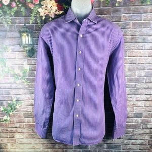 Tommy Hilfiger Men's Shirt Long Sleeve Size 16